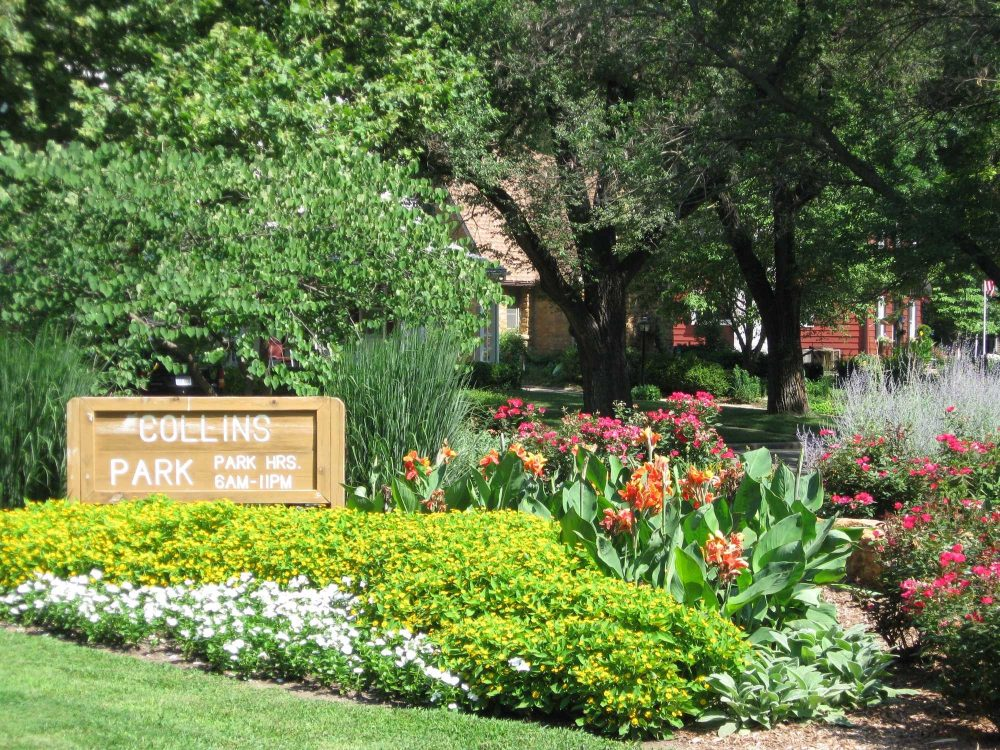 Collins Park Topeka Kansas in the Spring